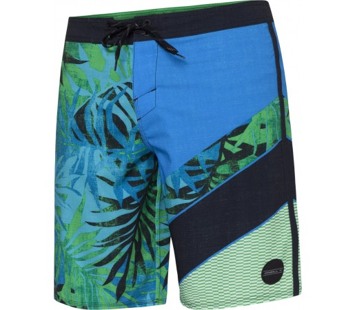 Boardshorts O'Neill PM Jordy Freak Out Albastru/Verde