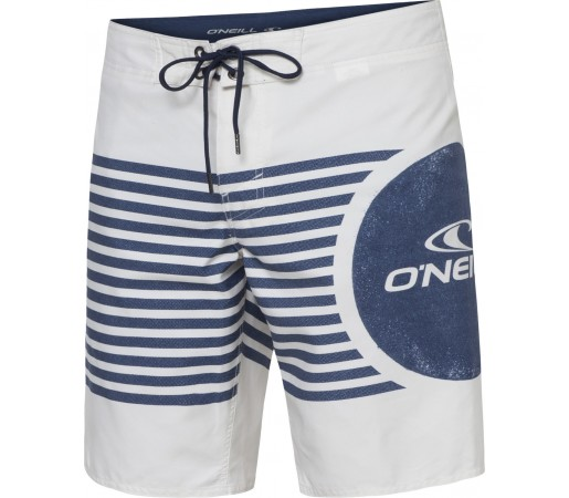 Boardshorts O'Neill PM Santa Cruz Panel Alb