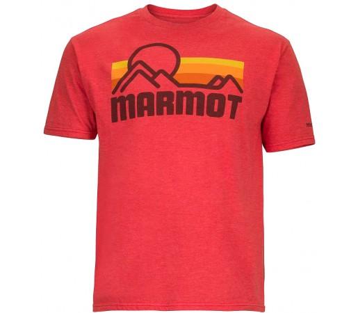 Tricou Marmot M Coastal Rosu