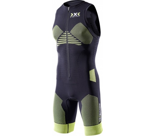 Salopeta X-Bionic Effektor Triathlon Power Suit Short Black/Yellow
