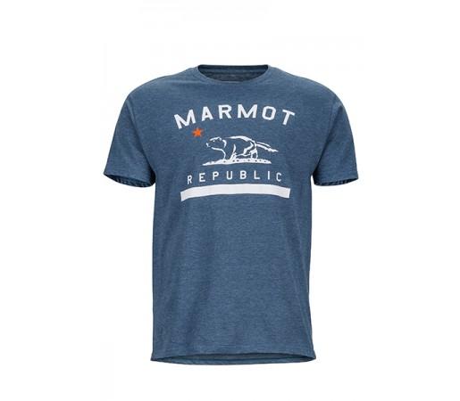Tricou Marmot M Republic Bleumarin