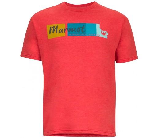 Tricou Marmot M 5.15 Rosu