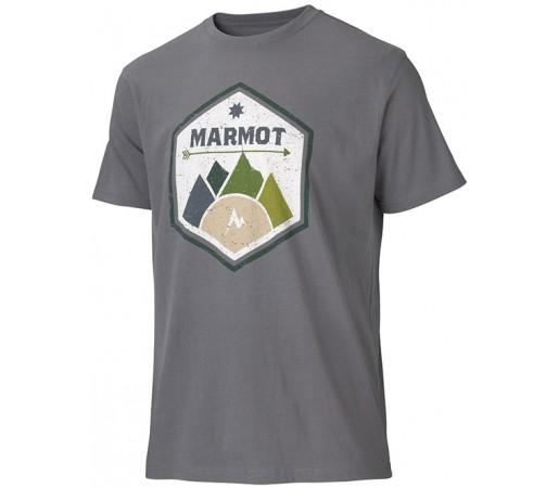Tricou Marmot M Badge Gri
