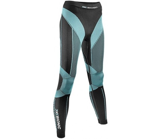 Pantaloni X-Bionic Effektor Running Power Pants Long Black/Blue