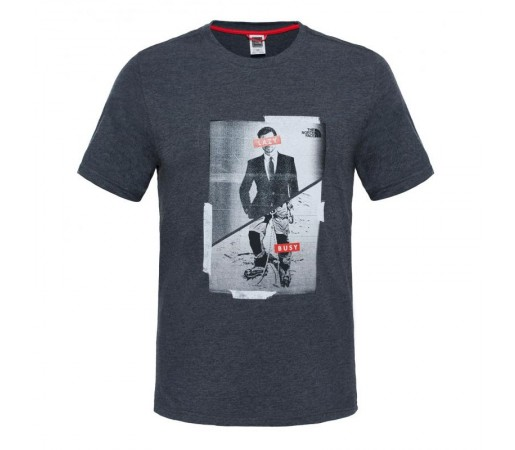 Tricou The North Face M S/S Week End Gri