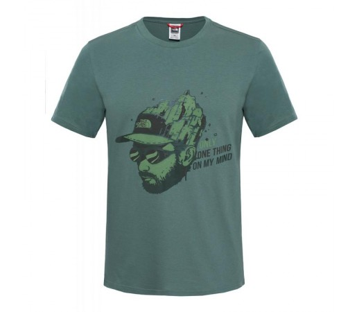 Tricou The North Face M S/S Week End Verde
