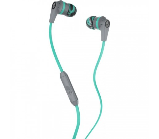 Casti audio Skullcandy Ink'd 2.0 Gri/ Turquoise