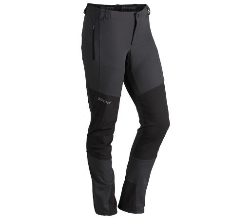 Pantaloni softshell Marmot W Pillar Negri/Gri