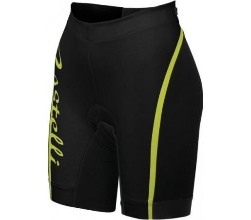 Pantaloni triathlon Castelli Core W Negru/ Verde