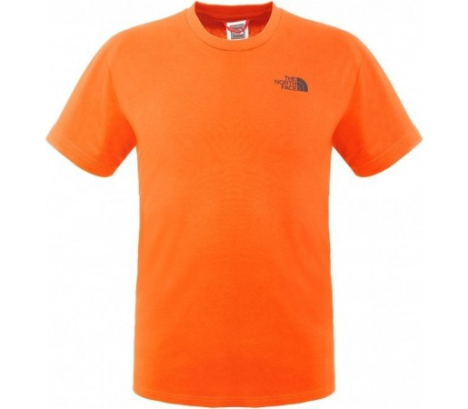 Tricou The North Face M S/S Simple Dome Portocaliu