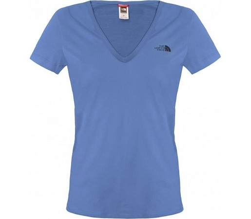 Tricou The North Face W S/S Simple Dome Albastru