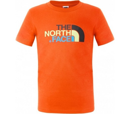 Tricou The North Face Y S/S Easy Portocaliu
