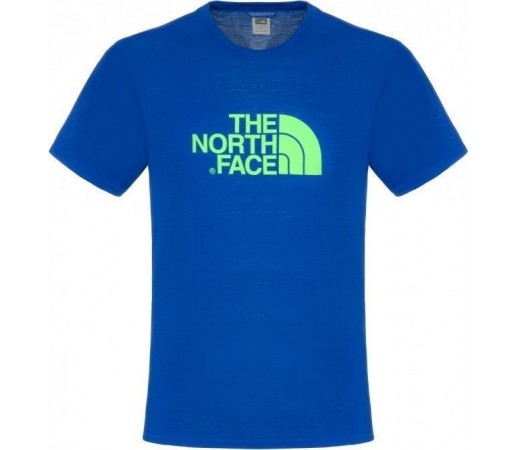 Tricou The North Face M Graphic Reaxion Crew Blue