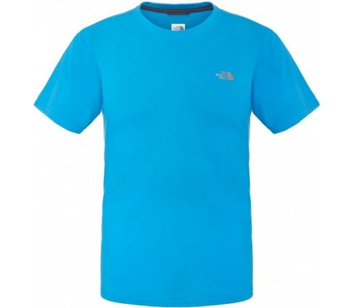 Tricou The North Face M S/S Reaxion Crew Albastru