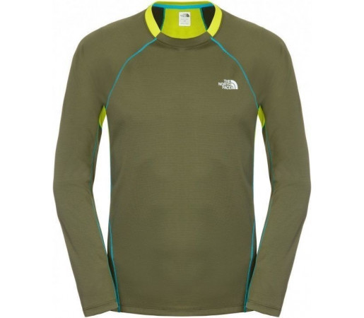 Bluza The North Face M Impulse Active Green-Yellow