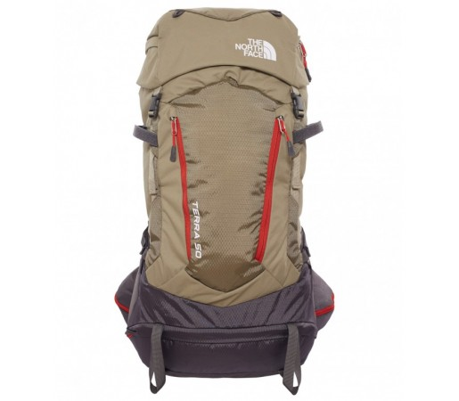 Rucsac The North Face Terra 50 Verde/Rosu