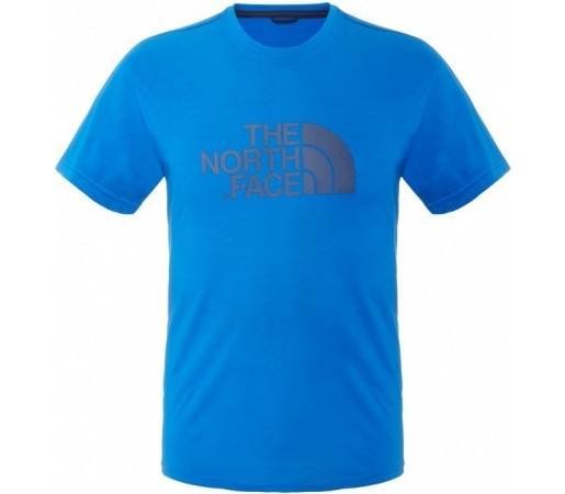 Tricou The North Face M S/S Graphic Reaxion Crew Albastru
