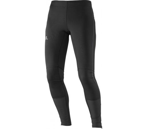 Pantaloni Salomon Agile Long Tight W Negri