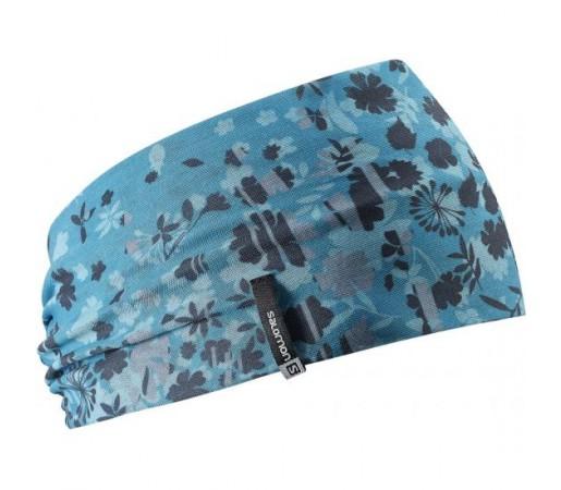 Bandana Salomon Headband Albastra