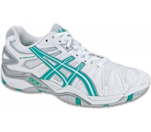 Incaltaminte Asics GEL Resolution 5 W Alb/Azur