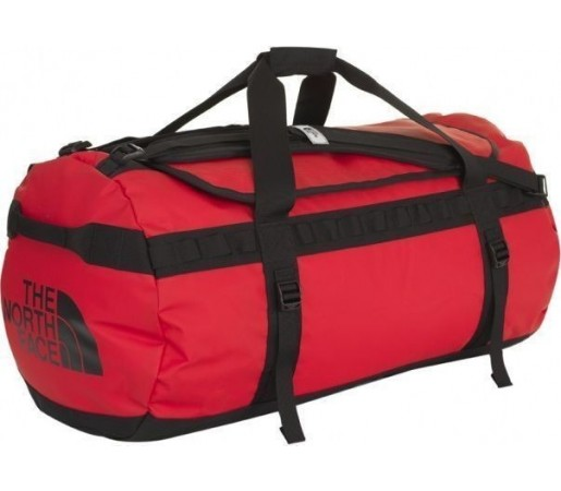 Geanta The North Face Base Camp Duffel L Red/Black