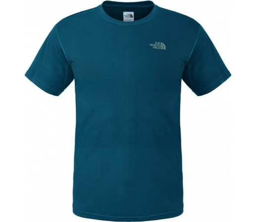 Tricou The North Face M S/S Solid Flex Crew Verde