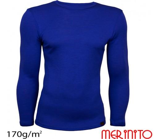 Bluza First Layer Barbati Merinito 170g/mp Albastra