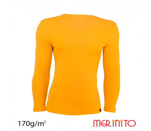 Bluza First Layer Merinito Barbat Galbena