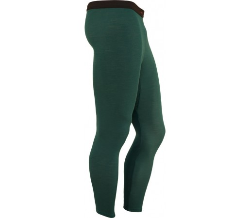 Pantaloni First Layer Merinito Lungi Verde