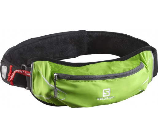 Curea alergare Salomon Agile 500 Belt Set Verde/Gri