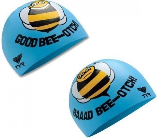 Casca inot Tyr Good Bad Bee bleu 2013