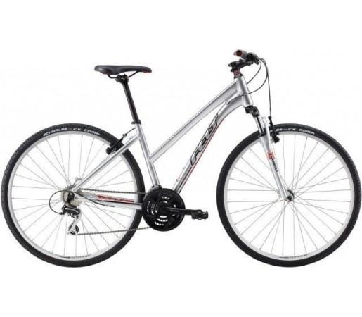 Bicicleta Trekking- Cicloturism- City Felt QX 60 W Silver 2014