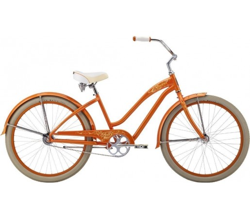 Bicicleta cruiser Felt Claire Orange 2014