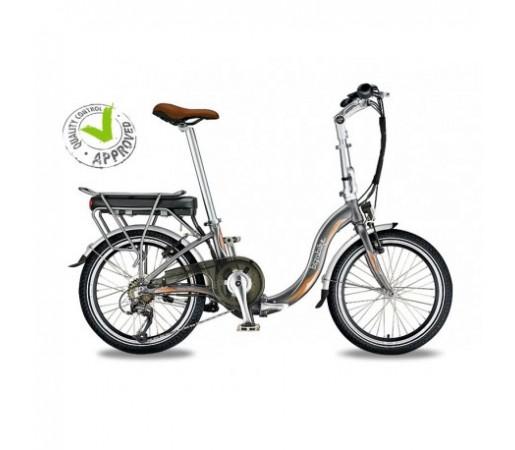 Bicicleta Electrica Pliabila Bizobike Miesty Bello Silver