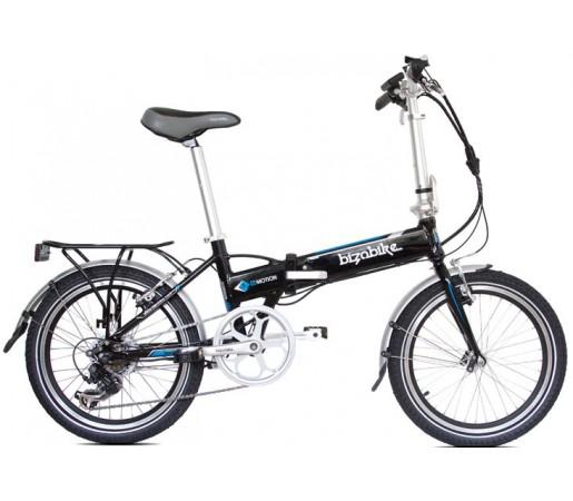 Bicicleta Electrica Pliabila Bizobike E-Motion III Black