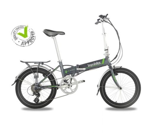 Bicicleta Electrica Pliabila Bizobike E-Motion III Grey