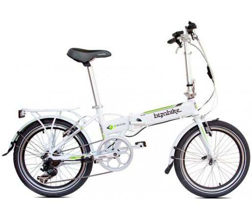 Bicicleta Electrica Pliabila Bizobike E-Motion III White