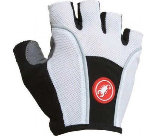 Manusi ciclism Castelli Pro Glove Alb/Gri