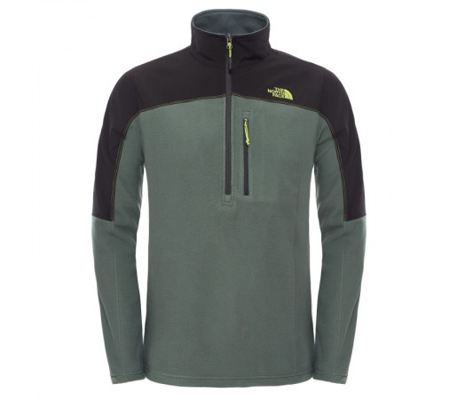 Polar The North Face M Glacier Trail 1/2 Verde/Negru