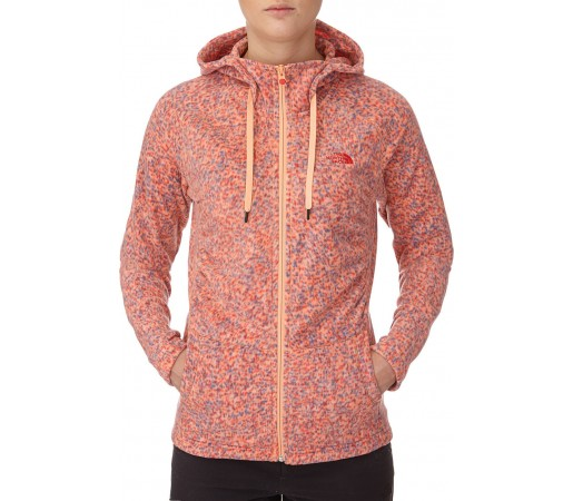 Polar The North Face W Mezzaluna Novelty Hoodie Portocaliu