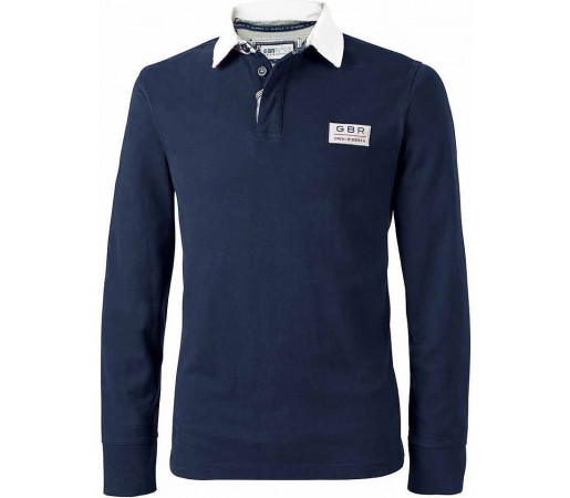 Bluza Crew Clothing GBR Rugby Patch Navy