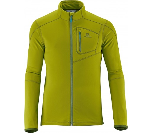 Bluza Salomon Discovery Fz Midlayer M Green