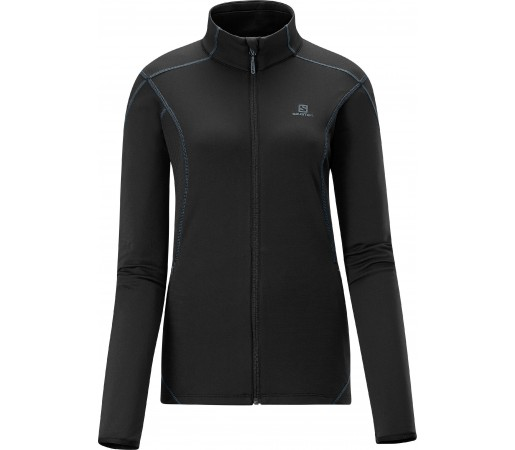 Bluza Salomon Discovery Fz Midlayer W Black