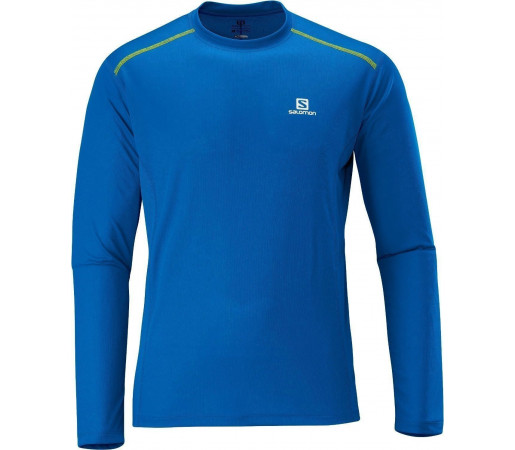Bluza Salomon Trail Runner LS Tee M Blue 2013