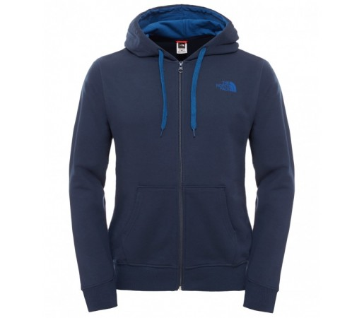 Hanorac The North Face M Open Gate Full Zip Hoodie Light Albastru