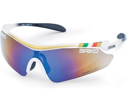 Ochelari de soare Briko Endure Pro Duo Bettini Alb