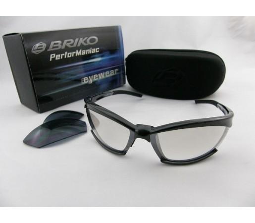 Ochelari de soare Briko Eyewear Gotham Negru