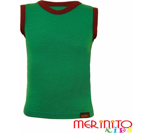 Maieu copii Merinito Verde/Mov