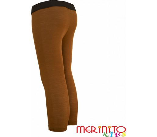 Pantaloni first layer copii Merinito Bej