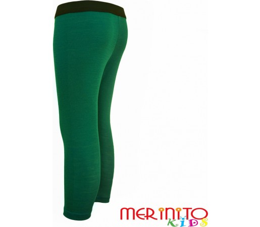Pantaloni first layer copii Merinito Verde